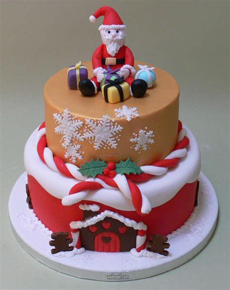 beautiful christmas cake decoration ideas  top designers