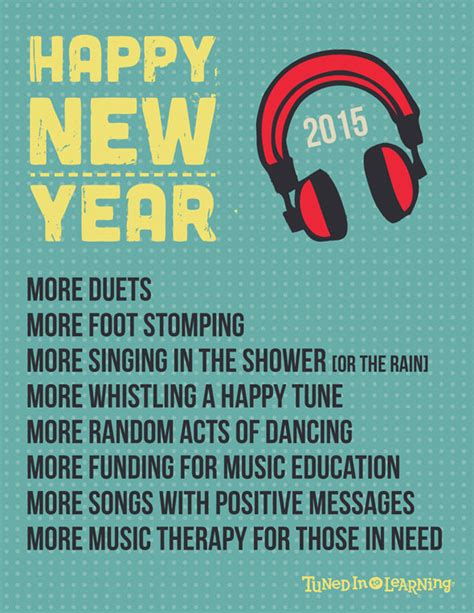 music therapy new year s poster tuned in to learning