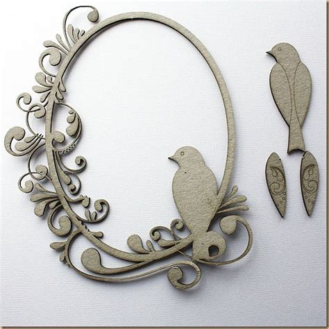 Frame Chipboard chipboard frame from wow laser cut home decor