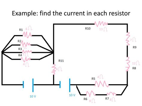 find the current and voltage across each resistor ppt a route for the flow of electricity that has elements of both parallel and series circuits