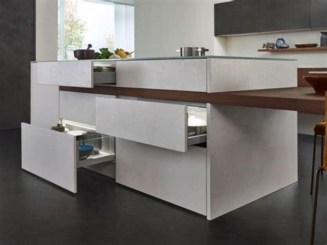 leicht waldstetten kitchen with island topos concrete by leicht k 252 chen
