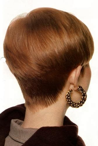 shaved wedge haircuts woman 39 s clippered nape wedge my favorite haircuts