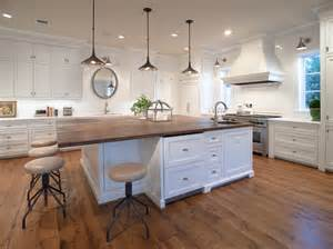 Wood Island Tops Kitchens Wood Top Kitchen Island Kitchen Traditional With Butcher