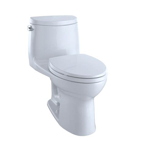 Closet Toto 421 White toto ultramax ii 1 1 28 gpf single flush elongated toilet with cefiontect in cotton white
