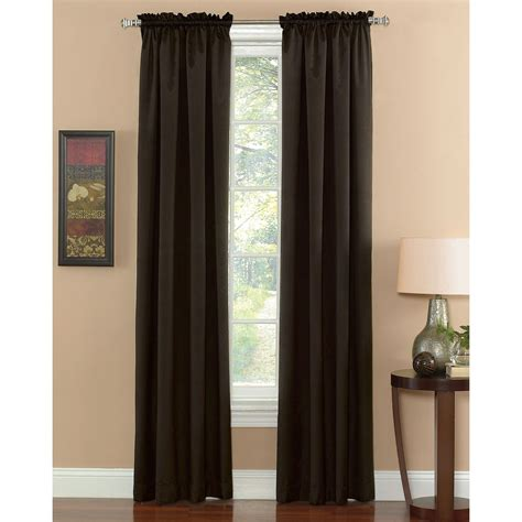 sears thermal curtains energy saving blackout panel block light and heat at