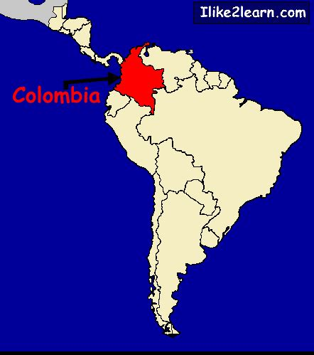 map of columbia south america map columbia south america afputra