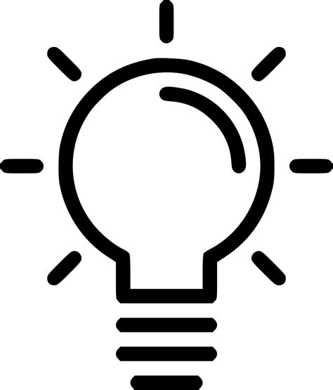 lamp idea creativity svg png icon free download 464379