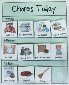 Laundry Room Clothes - free preschool chore charts subscriber freebie