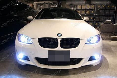 white car lights xenon white bmw discover the difference