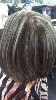 how to blend in gray in hair with low lights best 25 gray highlights ideas on pinterest gray hair