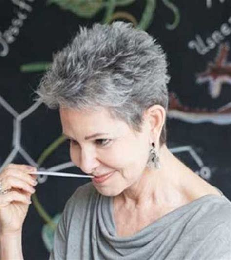 pixie grey hair styles 1000 ideas about short gray hairstyles on pinterest