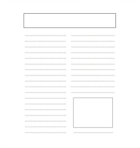 14 blank newspaper templates free sle exle