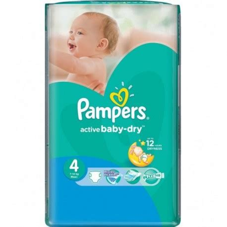 couches pampers active baby dry taille  pas cher sur