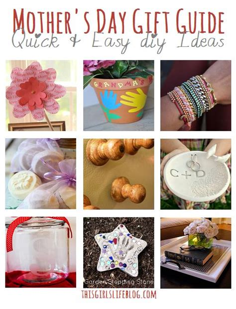 diy projects for mom s day gift guide easy diy ideas quot popular