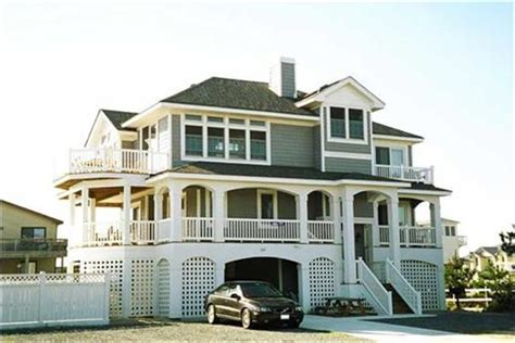 beach front house plans coastal houses and house plans the plan collection