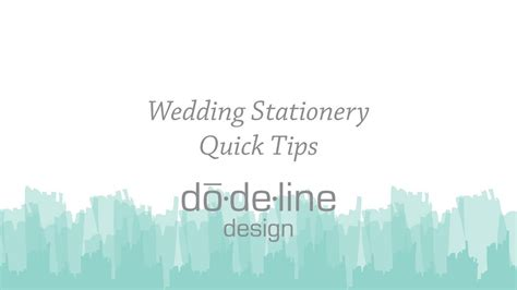 how many wedding invitations should i order dodeline design