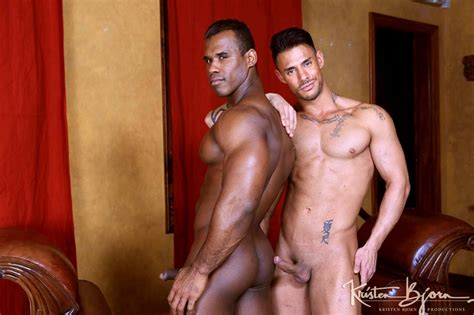 Ridder Rivera Forces His Huge Fat Cock Against Sergyo S Smooth Bare Ass Hole Nude Dude Blog