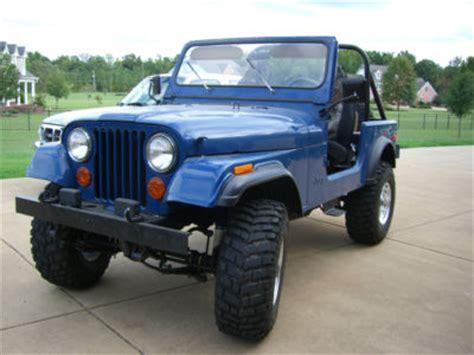 Jeep Cj For Sale By Owner Jeep Cj Cj7 1979 Jeep Cj7 For Sale 0 00
