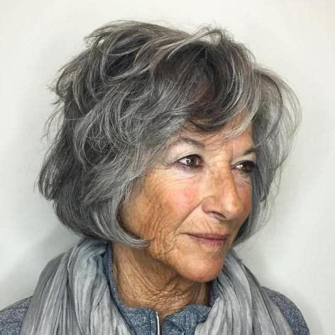 salt pepper hairstyles for women over 40 1501 best hairstyles for women over 40 images on pinterest