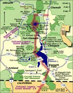 oregon scenic byways map volcanic legacy scenic byway oregon