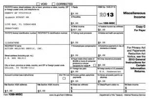 Irs 1099 Misc Template by 2017 Form 1099 Misc Pdf