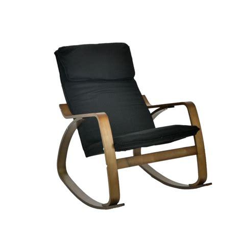 sedia a dondolo moderna sedia a dondolo moderna in legno di betulla tessuto