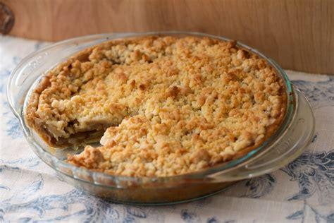 Apple Crumble | apple crumble pie umami holiday