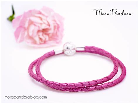 Celebrate Summer With Global Girlfriends Blossom Bangle Bracelets by Pandora Bracelets Leather Paint