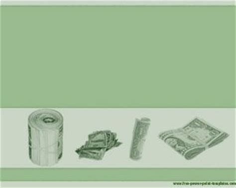 background uang template powerpoint uang dollar gratis template power