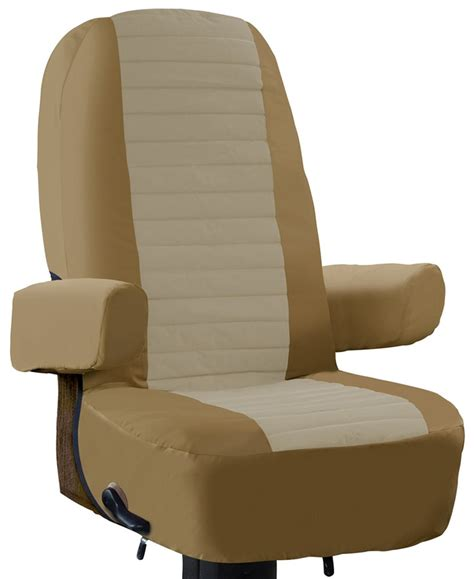 rv seat covers classic accessories rv captain seat cover classic