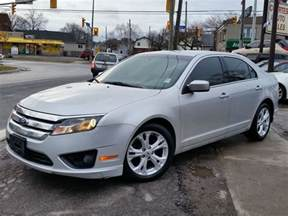 Ford Fusion Se 2012 2012 Ford Fusion Se St Catharines Ontario Used Car For