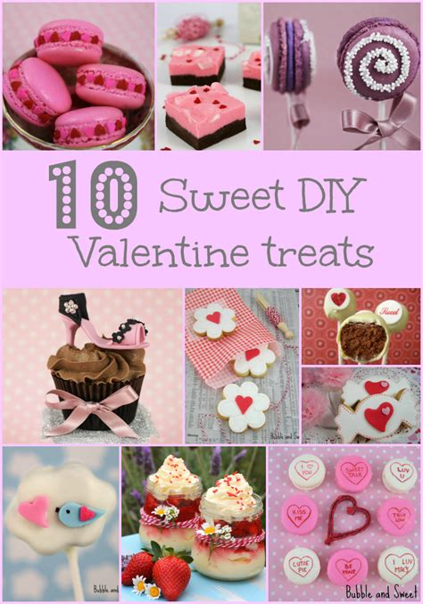 diy valentines treats and sweet 10 sweet treats to make for valentines