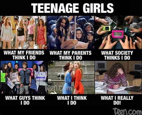 Teenage Girl Meme - best of what people think i do what i really do smosh