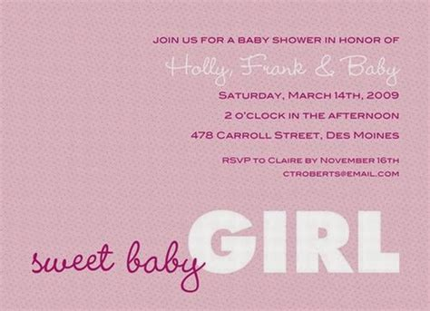 Etiquette On Baby Showers by Baby Shower Invitations Zone Baby Shower Invitations