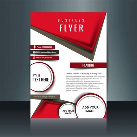 free graphic design flyer templates leaflet vectors photos and psd files free