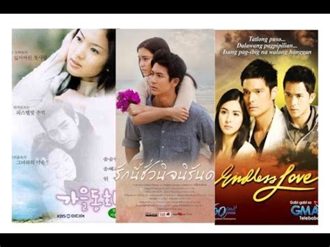 Film Thailand Vs Korea | ร กน ช วร น ร นดร autumn in my heart korean vs thai vs