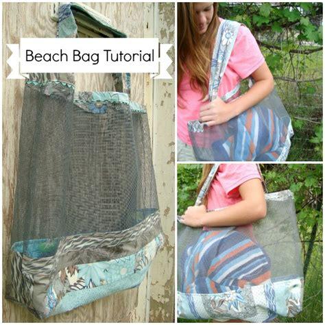 waou tutorial 1 how to make a beach rock rug beach tote bag pattern