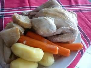 cuisine di騁騁ique facile poule au blanc normandie plat complet recettes