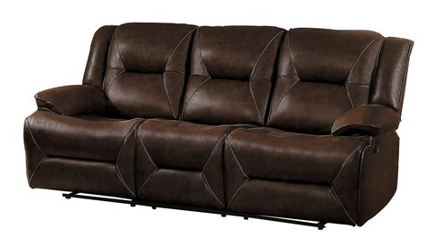 sofa match homelegance okello reclining sofa set brown airehyde