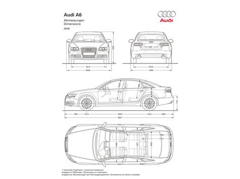 Audi A6 Size Dimensions related keywords suggestions for a6 dimensions
