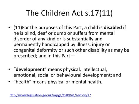 section 7 children s act 1989 vulnerability and developmental needs