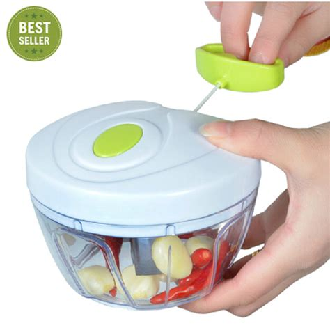 Kitchen Gadgets Dicing Aliexpress Buy Pull Cord Food Chopper Fruit
