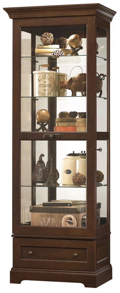howard miller curio cabinet key howard miller curios manford curio olinde s furniture