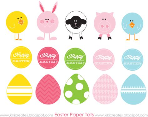 How To Make Easter Eggs Out Of Paper - easter paper tots free company