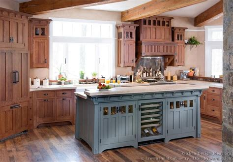 furniture style kitchen cabinets craftsman kitchen design ideas and photo gallery