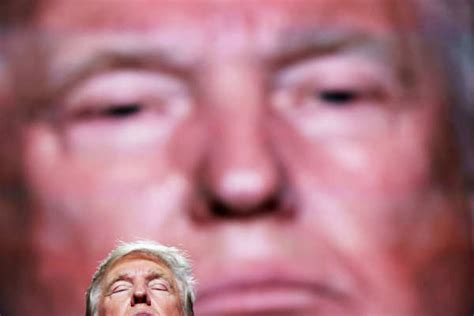 and our faces my the face in my nightmares trump