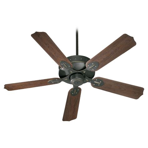 old world ceiling fans quorum lighting hudson old world ceiling fan without light
