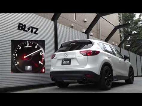 Muffler Cuter Mazda Cx 5 blitz nur spec c ti ke2aw mazda cx 5 exhaust sound