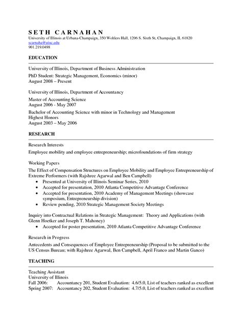 academic resume template best photos of academic cv template academic cv template