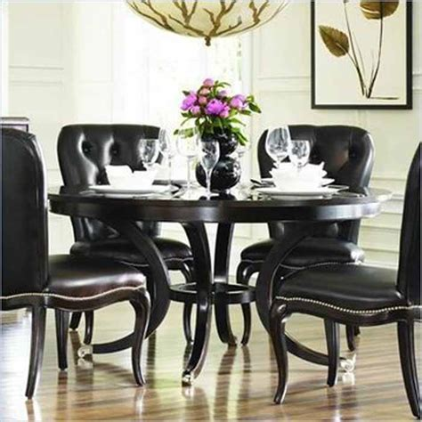 Dining Room Ideas With Black Table Black Dining Room Table Awesome Dining Room Wall Decor